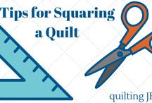 Tips on quilting