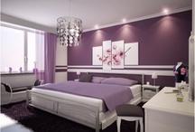 Interior theme purple