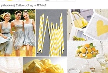 Wedding Theme: Yellow / Is bright and beautiful what you want for your wedding? Check out these ideas.