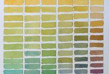 Art - Watercolors - Color Charts