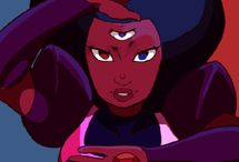 Garnet/Ruby and Sapphire