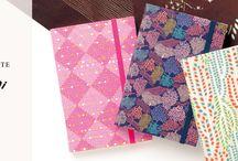 journals, notebooks, scrapbooking