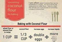 Coconut flour stuff
