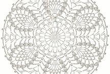 Crochet: Patrones/ Gráficos,etc.