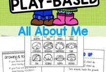pre-school: all about me
