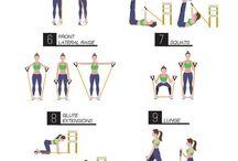 ασκησεις με λαστιχα