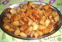 Patate dolci sabbiate