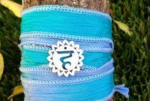 Chakra bracelet / Www.etsy.com/shop/kumbaka