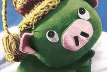 Mazsola, the pig