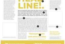 Fonts for editorial design. Help and Techniques / Fonts for editorial design. Help, techniques and tips to choose your font families and improve your creative process. #fonts #graphicdesign #editorialdesign #typography
