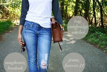 style || coffee dates & errand runs / Weekend casual looks