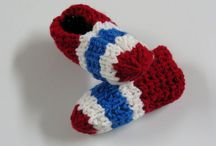 Pantoufles tricot / Slippers to knit