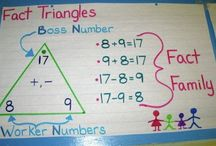 classroom math stuff / by Teresa Varieur