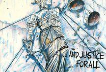 Metallica - And Justice For All / Quadro Decorativo feito em: * Base em MDF * Papel fotográfico Glossy de alta qualidade * Tamanho de 21 cm x 29,7 cm * Bordas com espessura de 2 cm na cor preta ou madeira crua