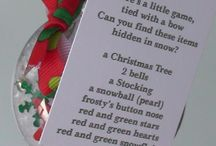Christmas ideas / by Cathy Justice