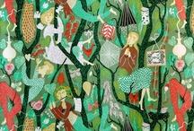 Fabrics I Love / by Jane Fulton