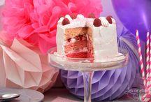 Gâteaux d'anniversaire / Birthday cakes
