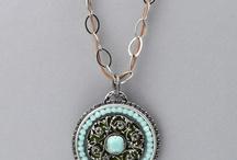 Fresh Mint / Minty colored jewels!
