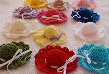 crochet applique favors