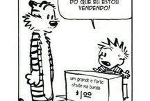 Calvin sou eu