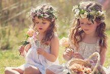 Flower girl head dresses