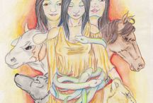 Hekatean Art / Art about Hekate by CoH Members