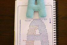 알파벳 뜨개질