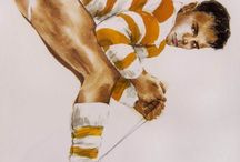 Myles Antony Art / The work of gay Dublin born artist Myles Antony