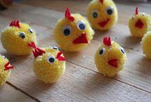 Easter -velikonoce / Velikonoční zdobení