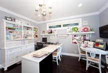 office/ craft room / by Jessica Culbertson