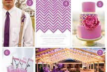 Trending This Year  / Rose Gold & Pantone Radiant Orchid  / by Type A Soiree Events