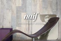 #RECOVERED WOOD / Reproduce con fidelidad la naturalidad de matices, vetas y tonalidades de las maderas como inspiración para proyectos de puro diseño. Un pantone que decora y personaliza con una atmosfera suave e iluminada