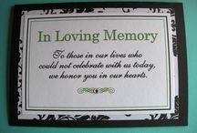 In Loving Memory / by Carey Cronin