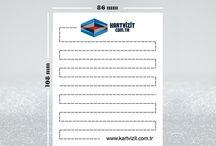 UNUTMAYINIZ KARTI - AYHŞAP STAND / 280 gr amerikan bristol kağıda baskılı