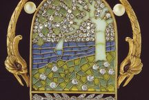 Art Nouveau in Spain & Portugal / Major artists are Catalan Antoni Gaudi, Josep Maria Jujol, Lluís Domènech i Montaner in Architecture, Luis Masriera in jewelry design
