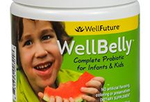 WellBelly / WellBelly is a unique blend of eight different non-dairy probiotics that target intestinal, digestive and immune health in infants and children. WellBelly is a targeted blend of probiotics specifically for infants and kids without the hard to digest lactic acid that many strains of probiotics have. Our probiotics support intestinal health, digestive balance and the immune system without a lot of the D form of lactic acid that can irritate immature digestive tracts.