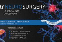 Cartes de visite médical / Des propositions de modèles.