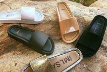 chinelos flat
