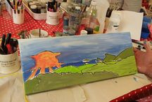 Canvas Painting / Canvas Painting at Faux Arts