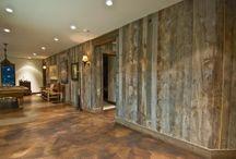 Barn walls concrete floors