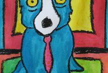 Dog - art