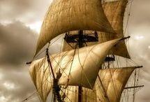Historische Schiffe / Hier seht Ihr Schiffe aus vergangenen Jahrhunderten.