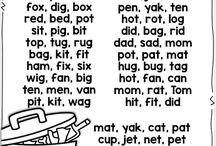 Word families and rhyming