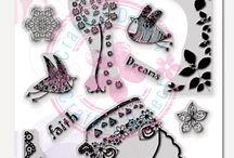 Elena Guzinska Stamps by Craffiti Direct