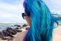Gorgeous colored hair