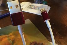 Diy / Cable de téléphone vernis