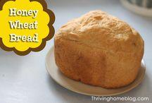 Bread Maker Recipes / by Jill Martinson