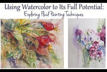 Watercolour you tube