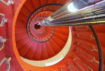 Circular Stairs Up Down
