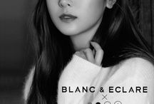 Blanc Girl / My self-designed T-Shirt. Inspiration from Blanc & Eclare. CEO Jessica Jung.